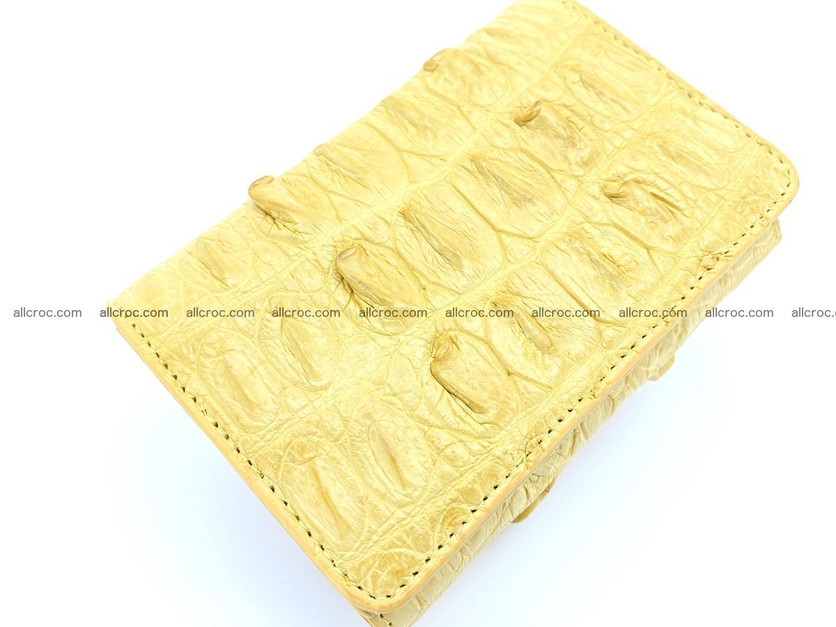 Crocodile skin wallet for women 1028 Foto 5
