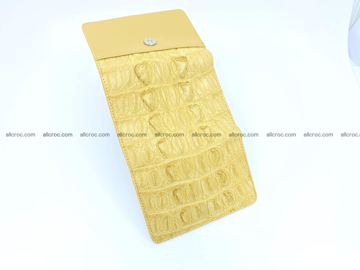 Crocodile skin wallet for women 1028 Foto 6