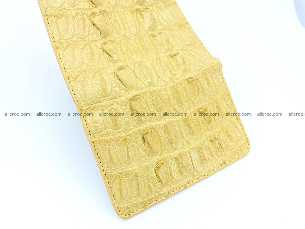 Crocodile skin wallet for women 1028 Foto 7