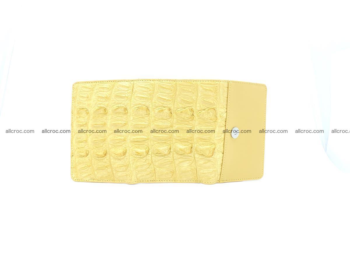 Crocodile skin wallet for women 1028 Foto 8