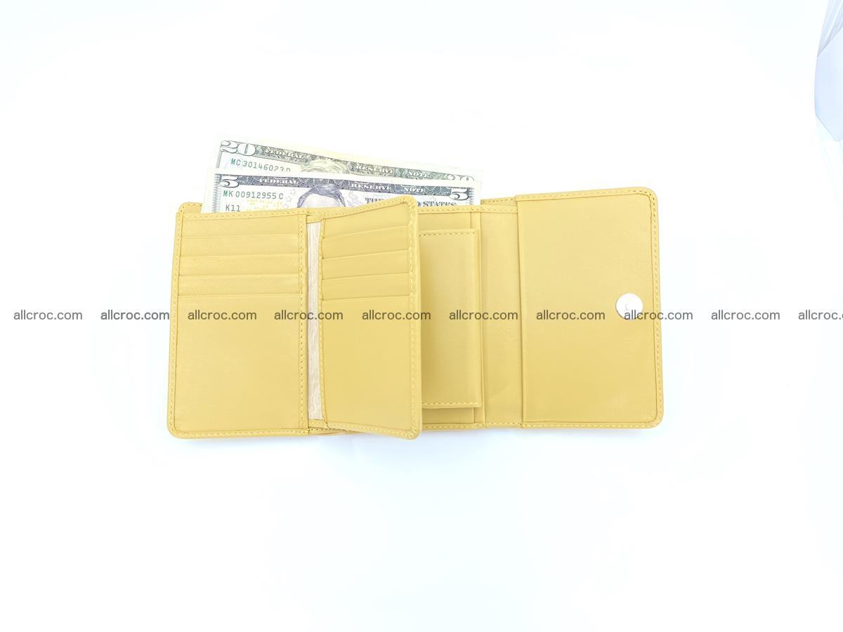 Crocodile skin wallet for women 1028 Foto 10