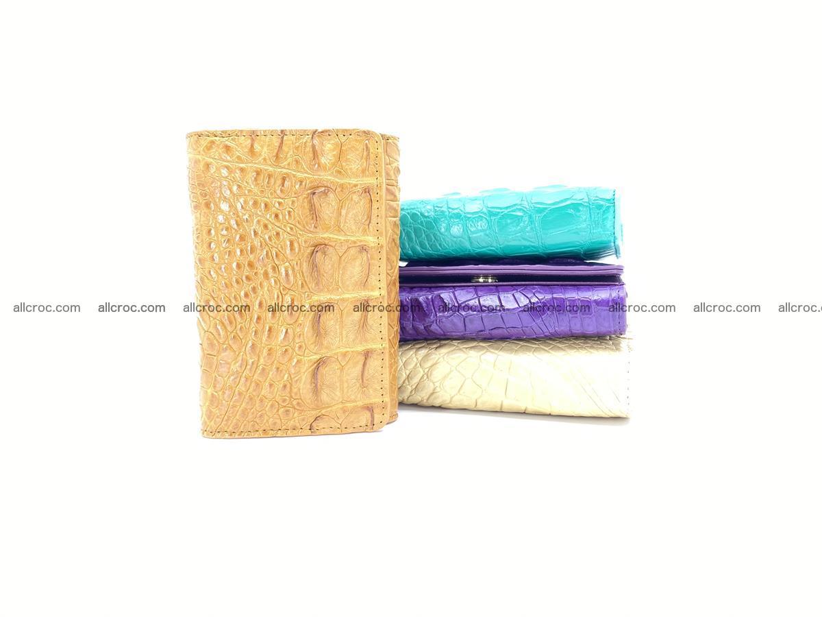 Crocodile skin wallet for women 1024 Foto 11