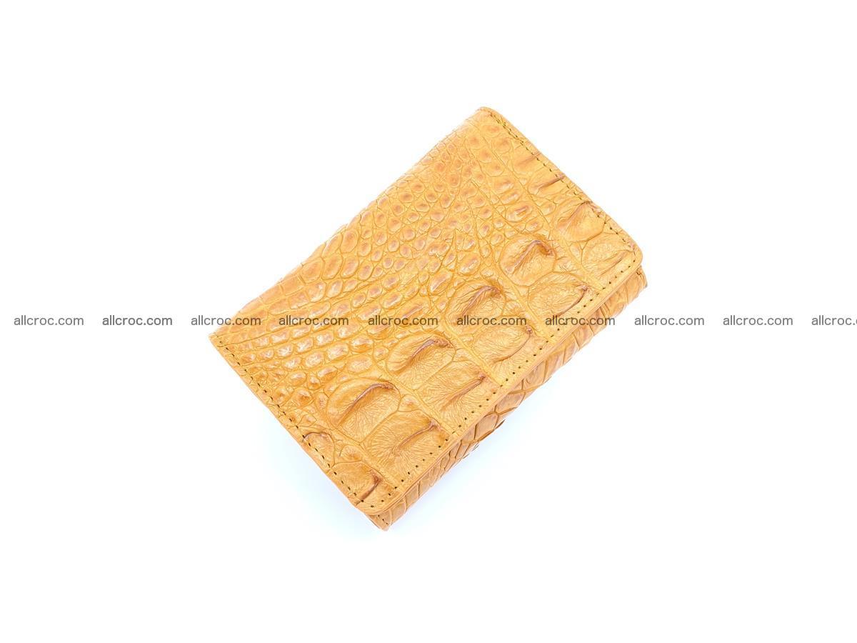 Crocodile skin wallet for women 1024 Foto 4