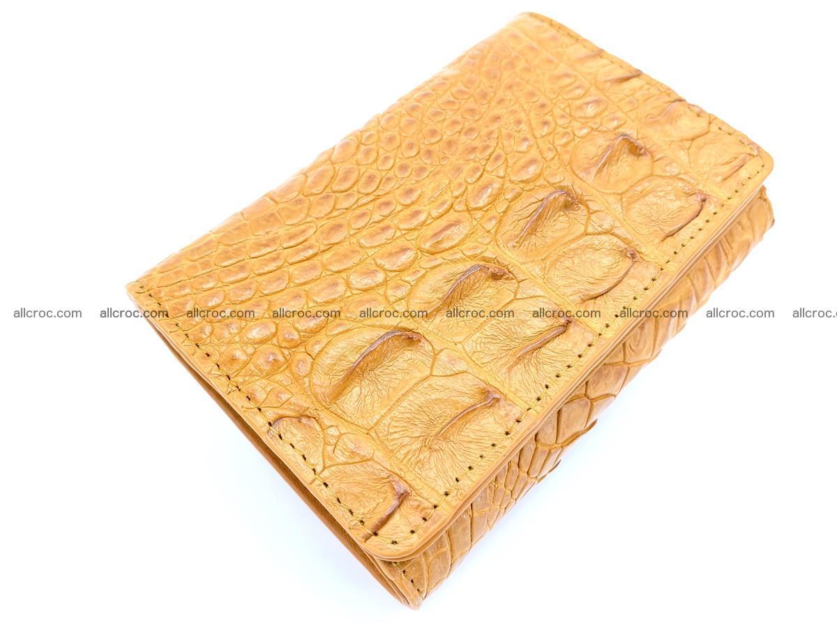 Crocodile skin wallet for women 1024 Foto 5