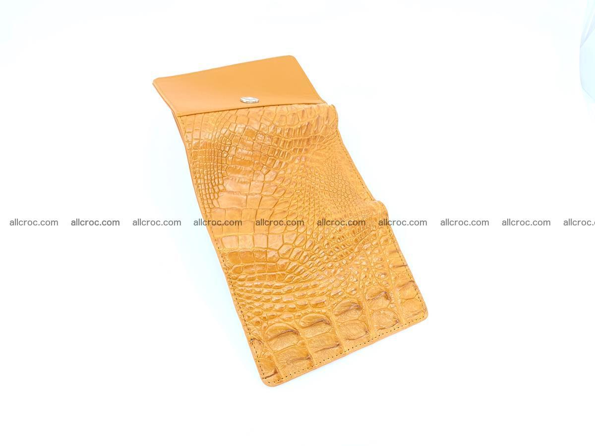 Crocodile skin wallet for women 1024 Foto 6