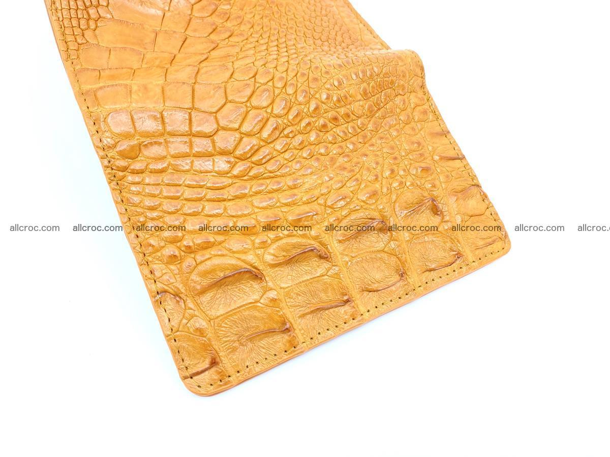 Crocodile skin wallet for women 1024 Foto 7