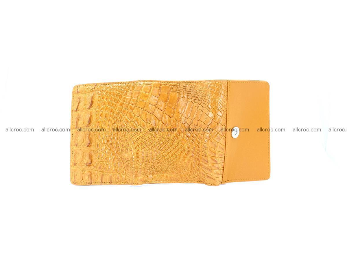 Crocodile skin wallet for women 1024 Foto 8