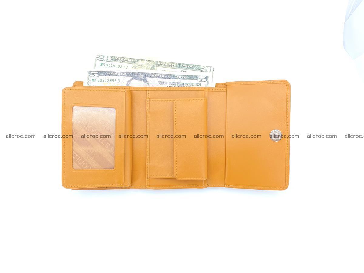 Crocodile skin wallet for women 1024 Foto 9