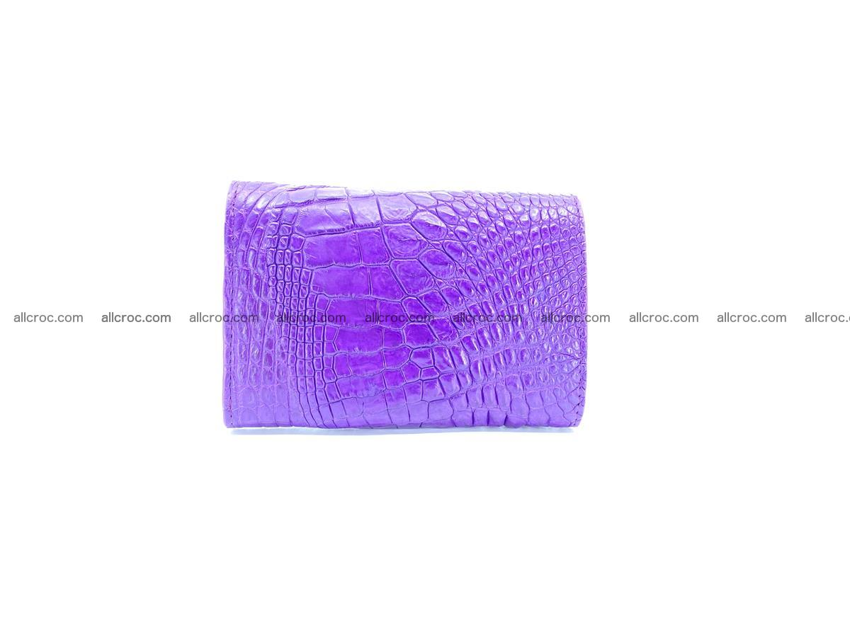 Crocodile skin wallet for women 1026 Foto 1
