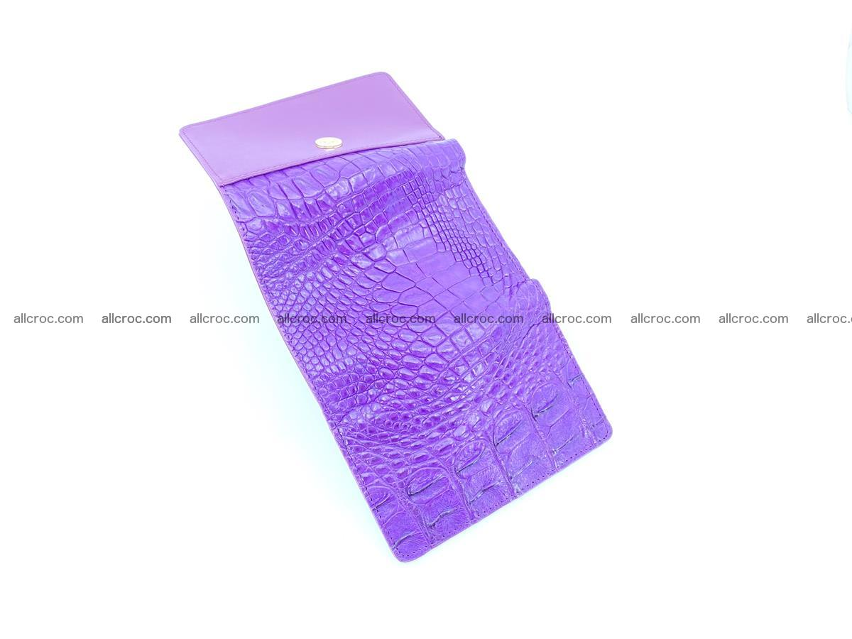 Crocodile skin wallet for women 1026 Foto 6