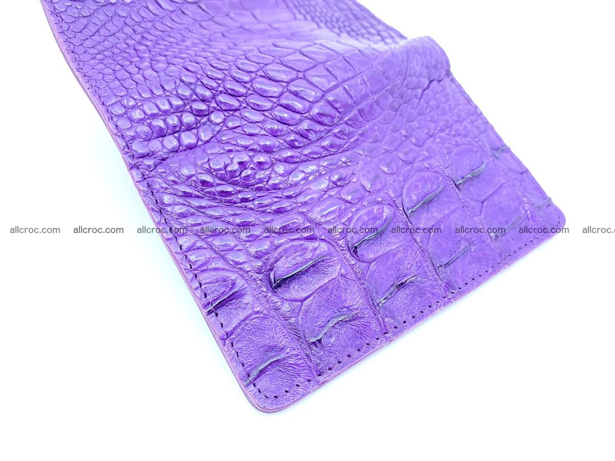 Crocodile skin wallet for women 1026 Foto 7