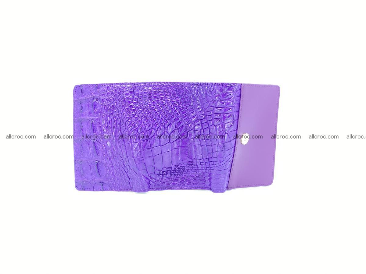 Crocodile skin wallet for women 1026 Foto 8