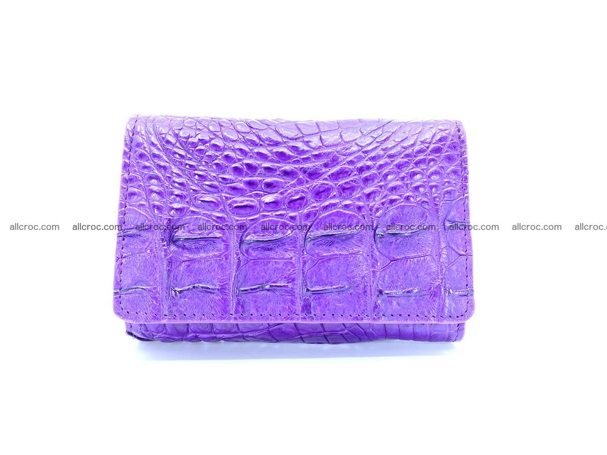 Crocodile skin wallet for women 1026 Foto 0
