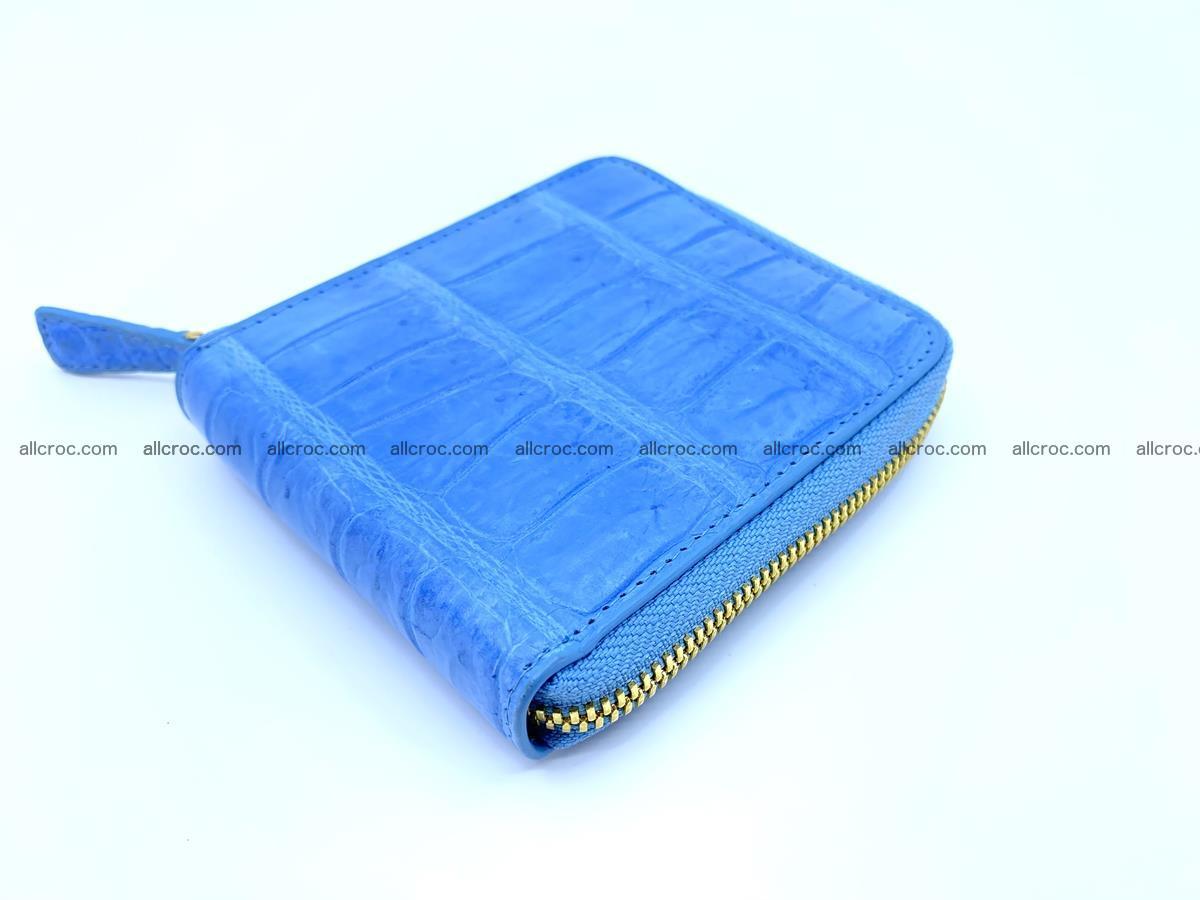 Crocodile skin wallet, short billfold 1445 Foto 1