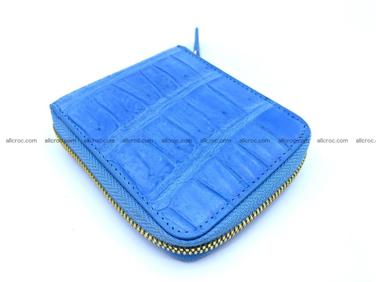 Crocodile skin wallet, short billfold 1445 Foto 0