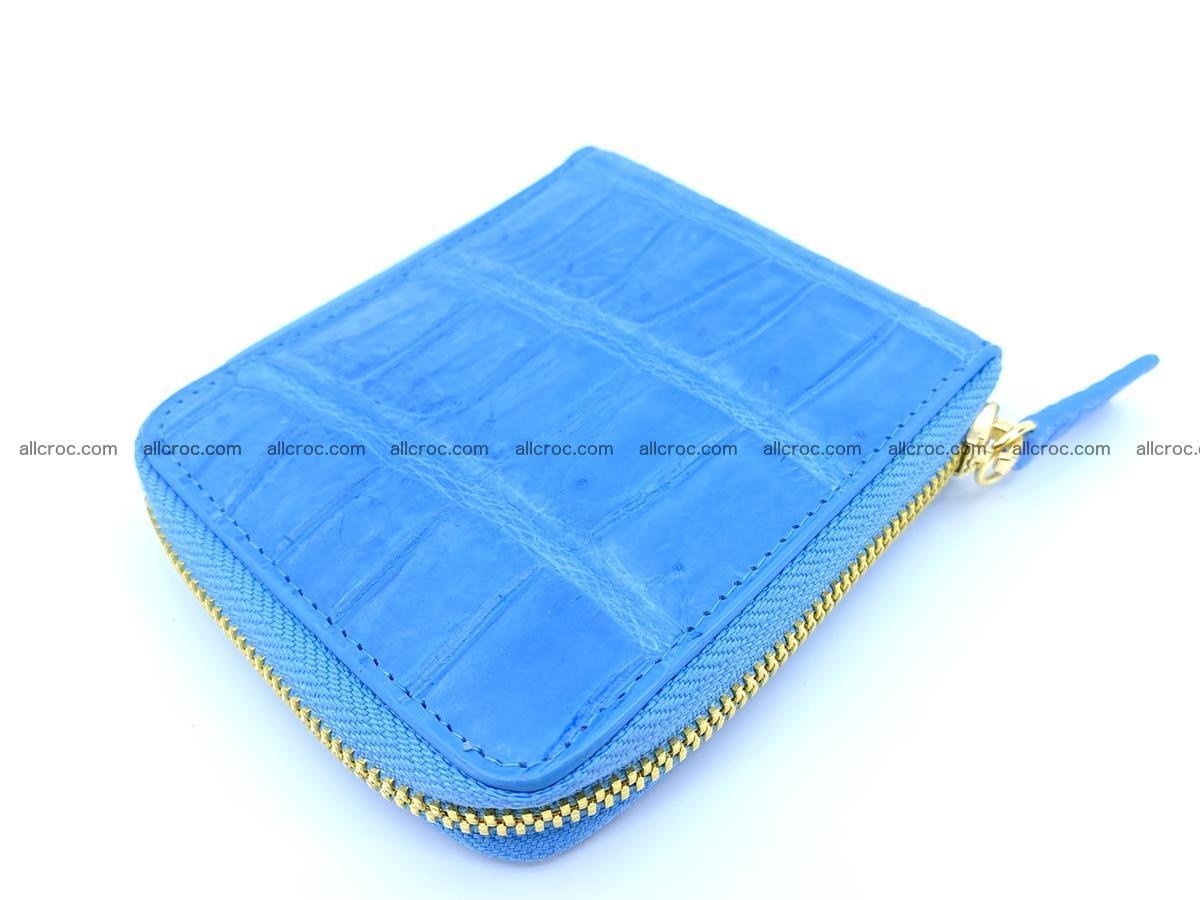 Crocodile skin wallet, short billfold 1445 Foto 2