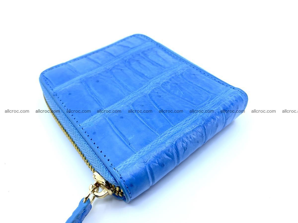Crocodile skin wallet, short billfold 1445 Foto 3