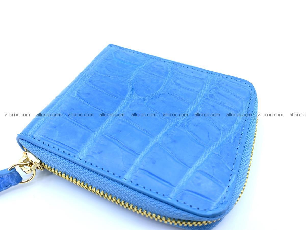 Crocodile skin wallet, short billfold 1445 Foto 4