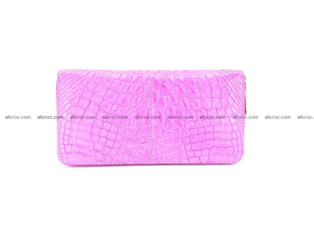 Crocodile skin wallet with zip 977 Foto 1