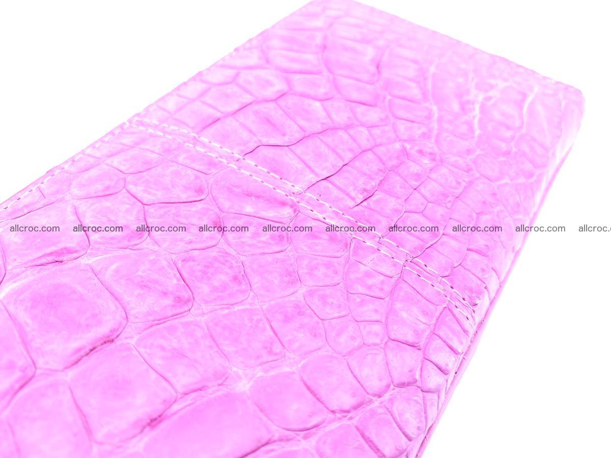 Crocodile skin wallet with zip 977 Foto 10