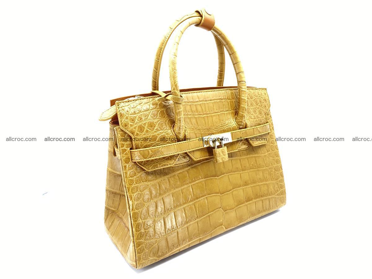 Crocodile skin women's handbag 1448 Foto 1