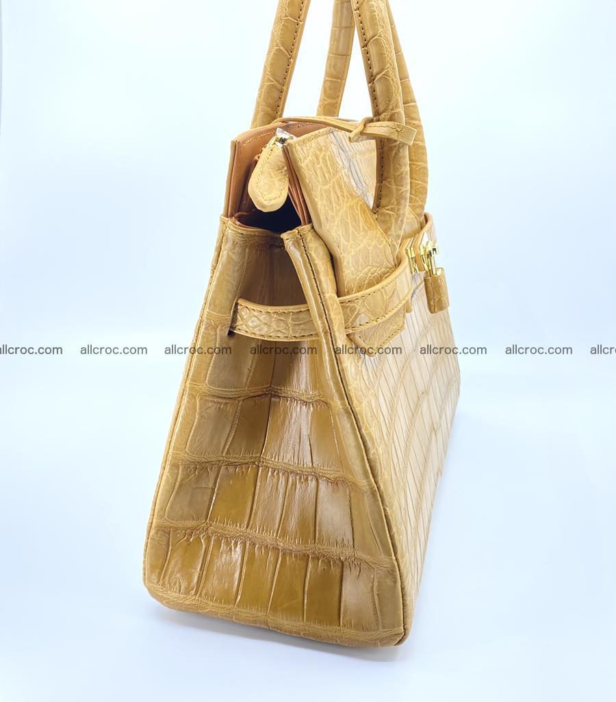 Crocodile skin women's handbag 1448 Foto 2