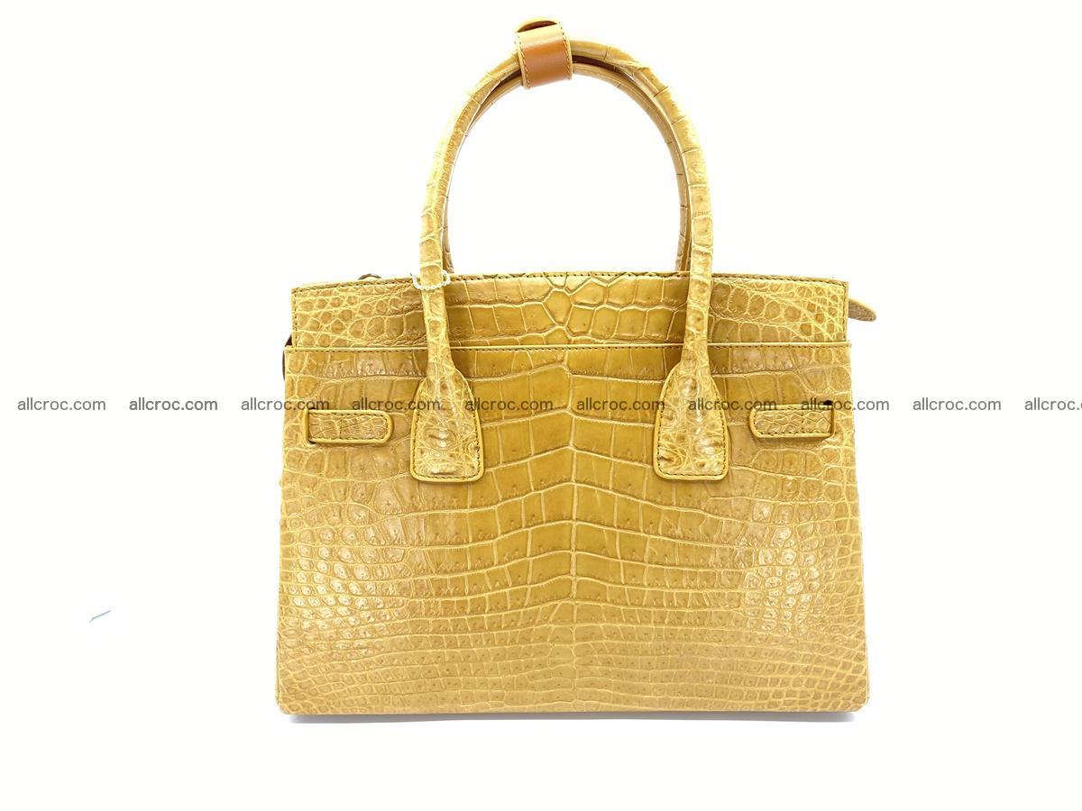 Crocodile skin women's handbag 1448 Foto 3
