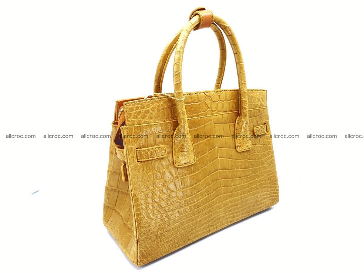 Crocodile skin women's handbag 1448 Foto 4