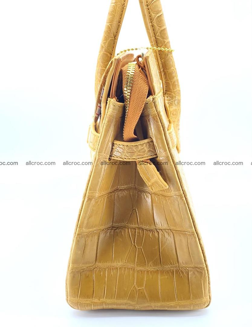 Crocodile skin women's handbag 1448 Foto 5