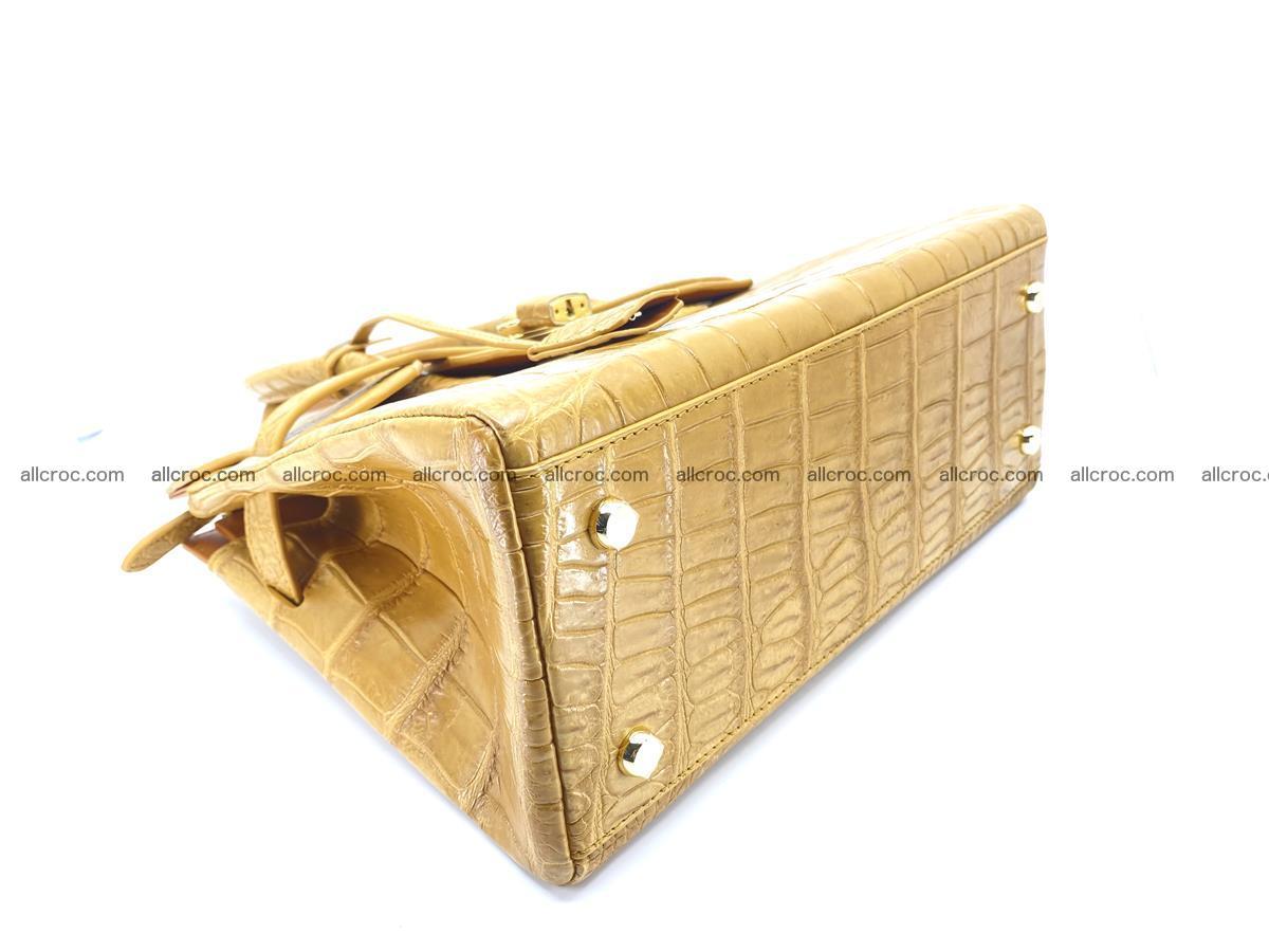Crocodile skin women's handbag 1448 Foto 7