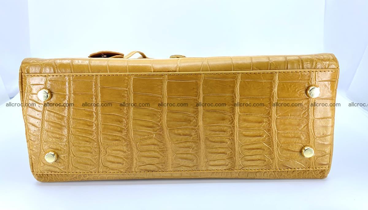 Crocodile skin women's handbag 1448 Foto 14