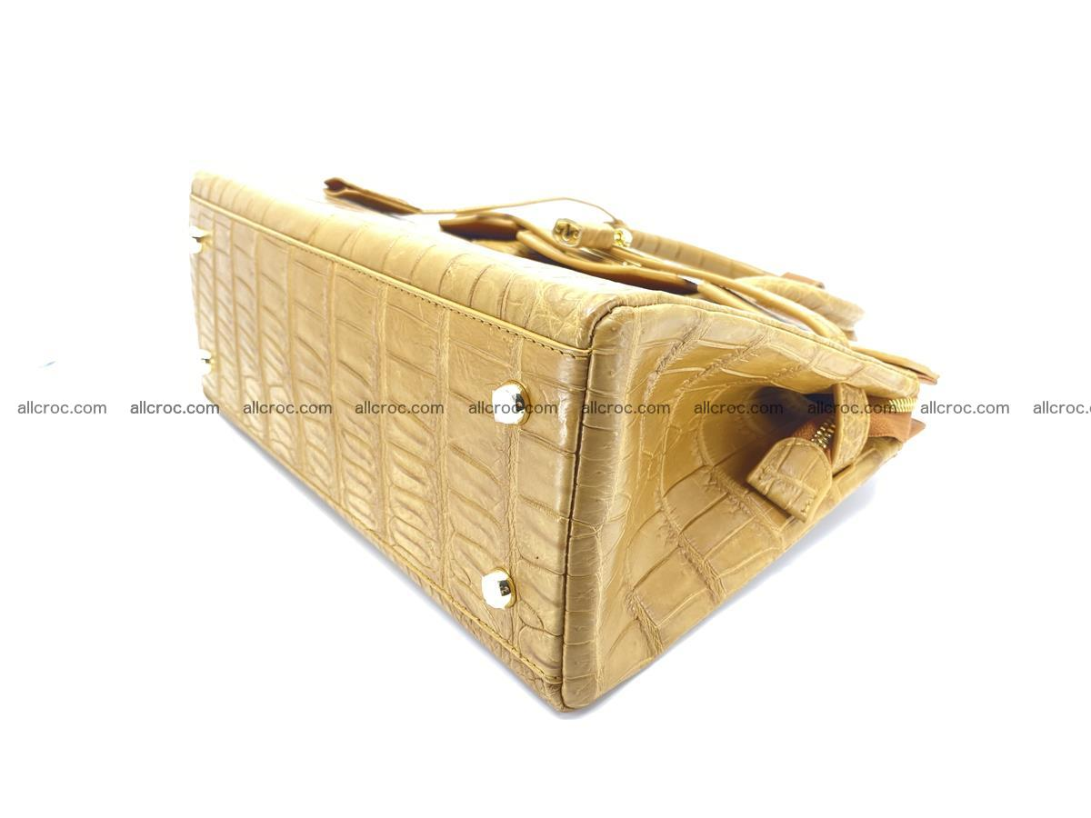 Crocodile skin women's handbag 1448 Foto 11
