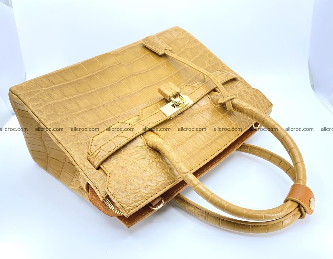 Crocodile skin women's handbag 1448 Foto 15