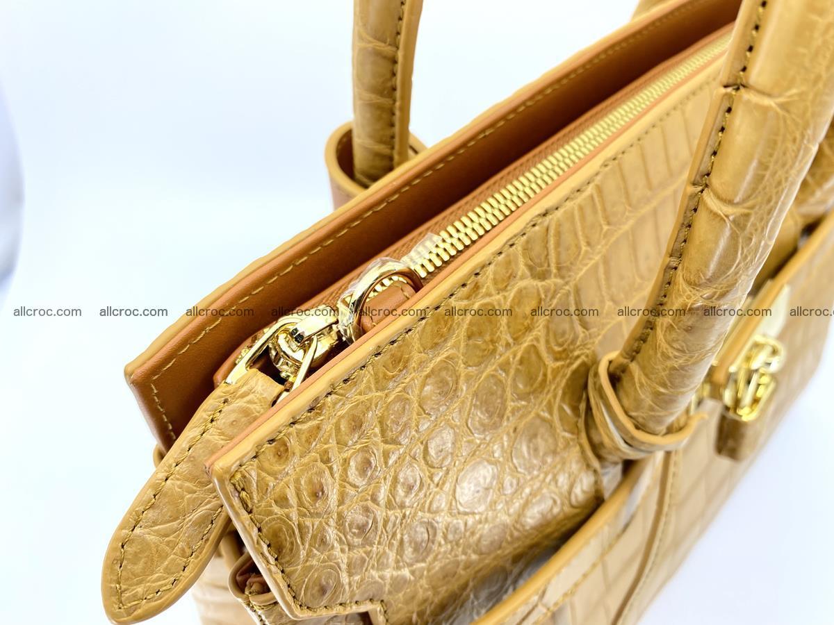 Crocodile skin women's handbag 1448 Foto 12