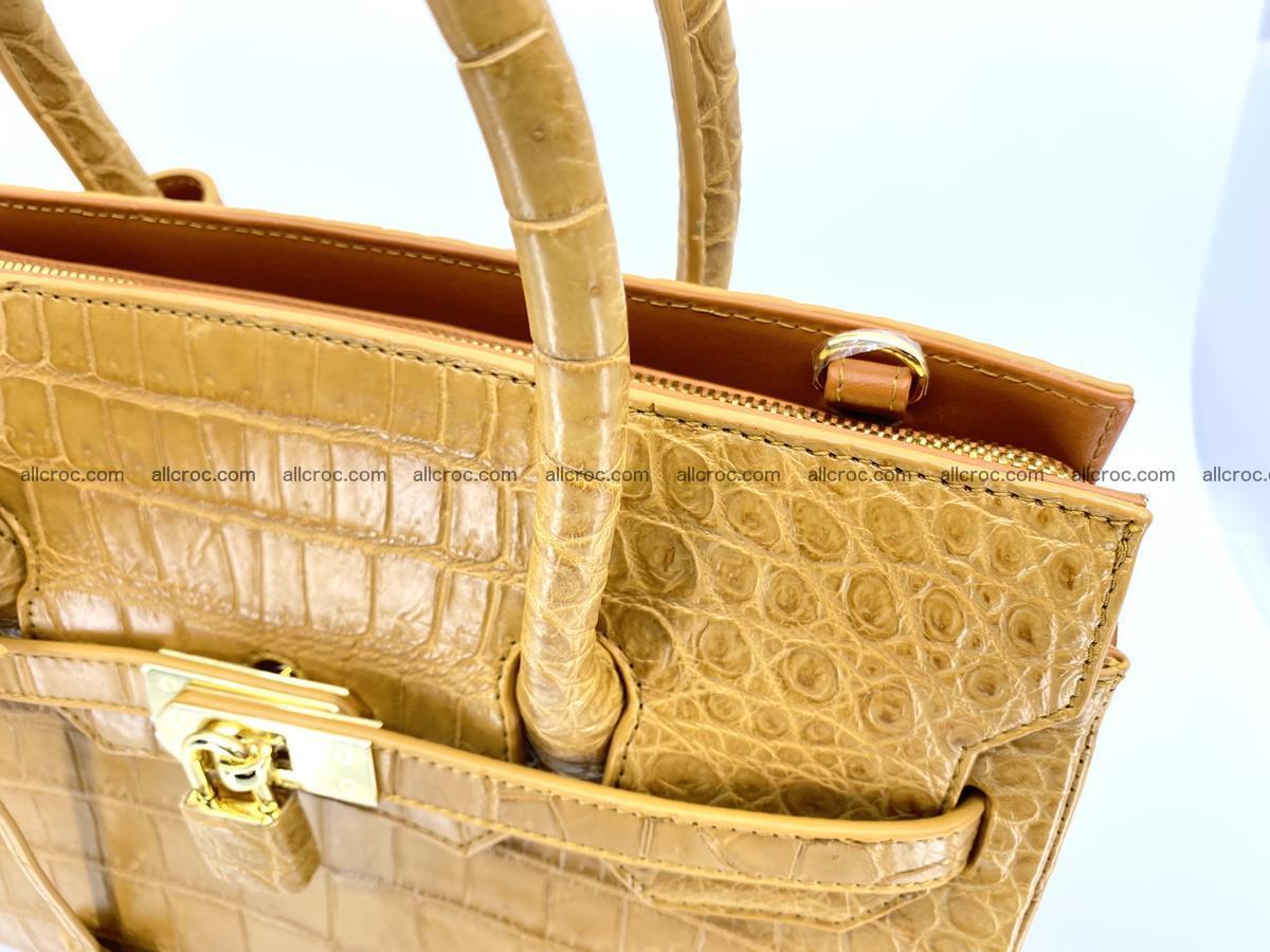 Crocodile skin women's handbag 1448 Foto 16