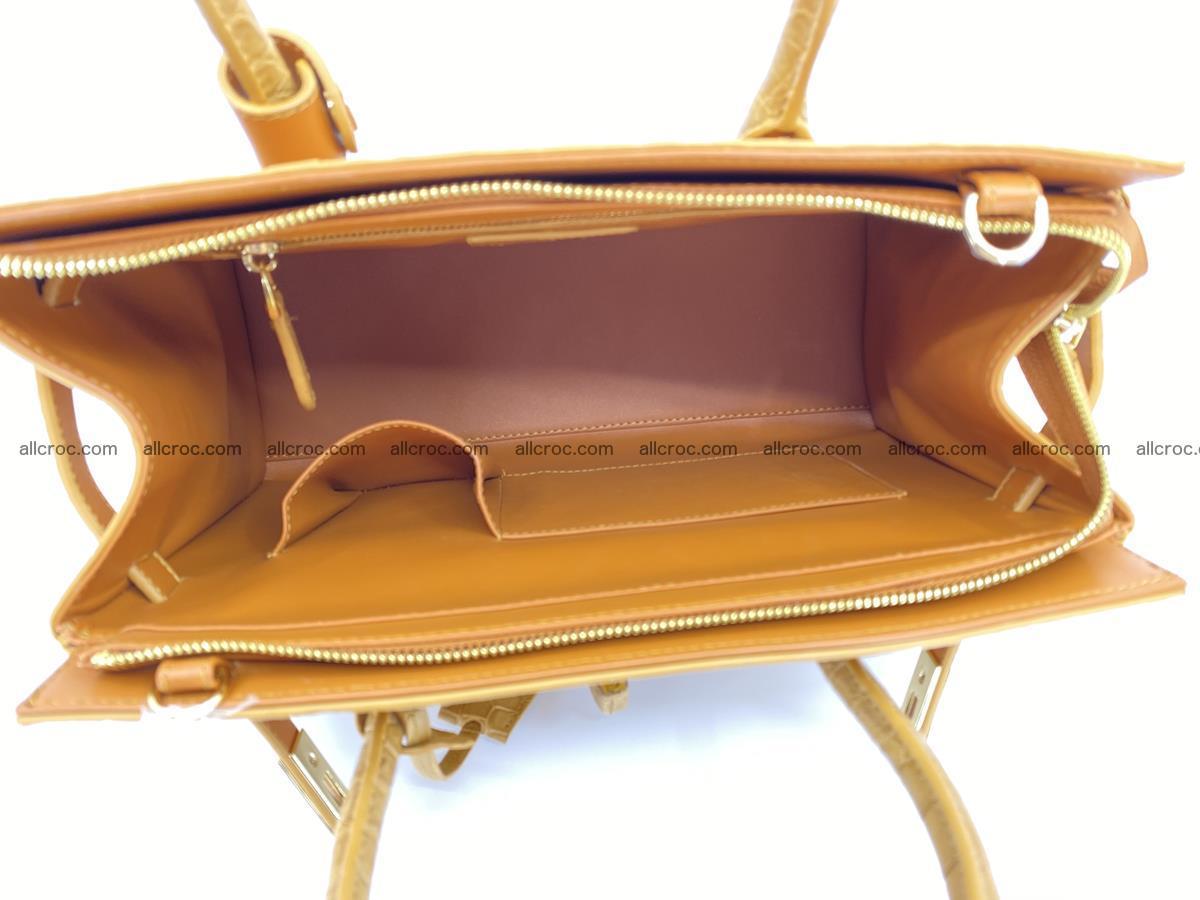 Crocodile skin women's handbag 1448 Foto 9