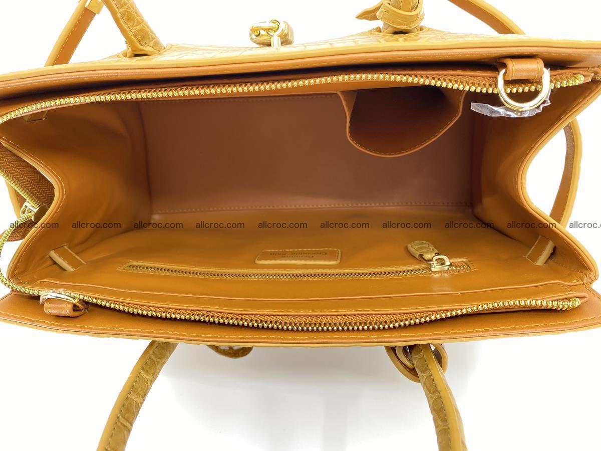 Crocodile skin women's handbag 1448 Foto 10
