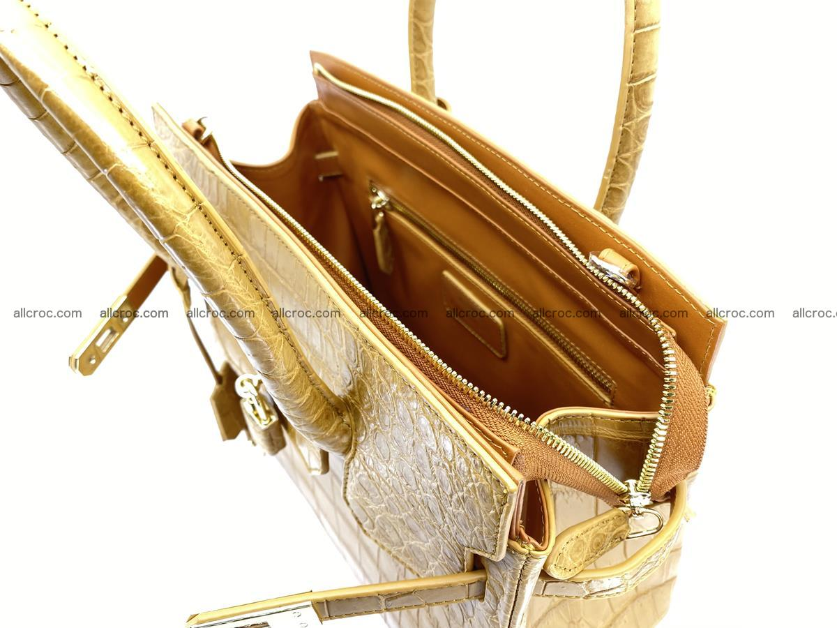 Crocodile skin women's handbag 1448 Foto 18
