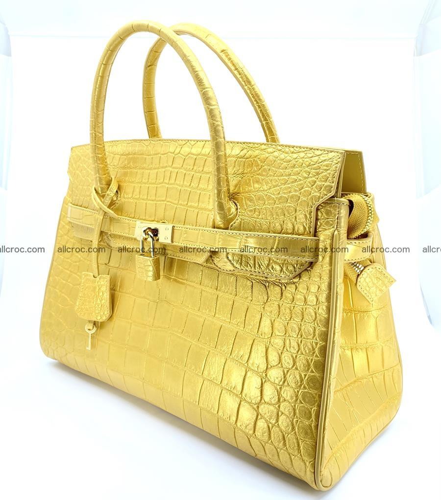 Crocodile skin women's handbag 1447 Foto 2