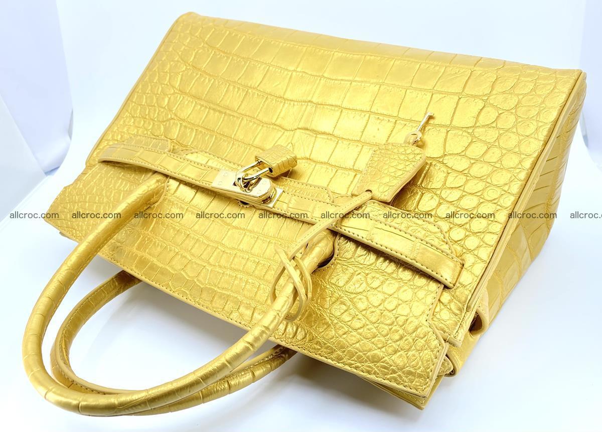 Crocodile skin women's handbag 1447 Foto 6