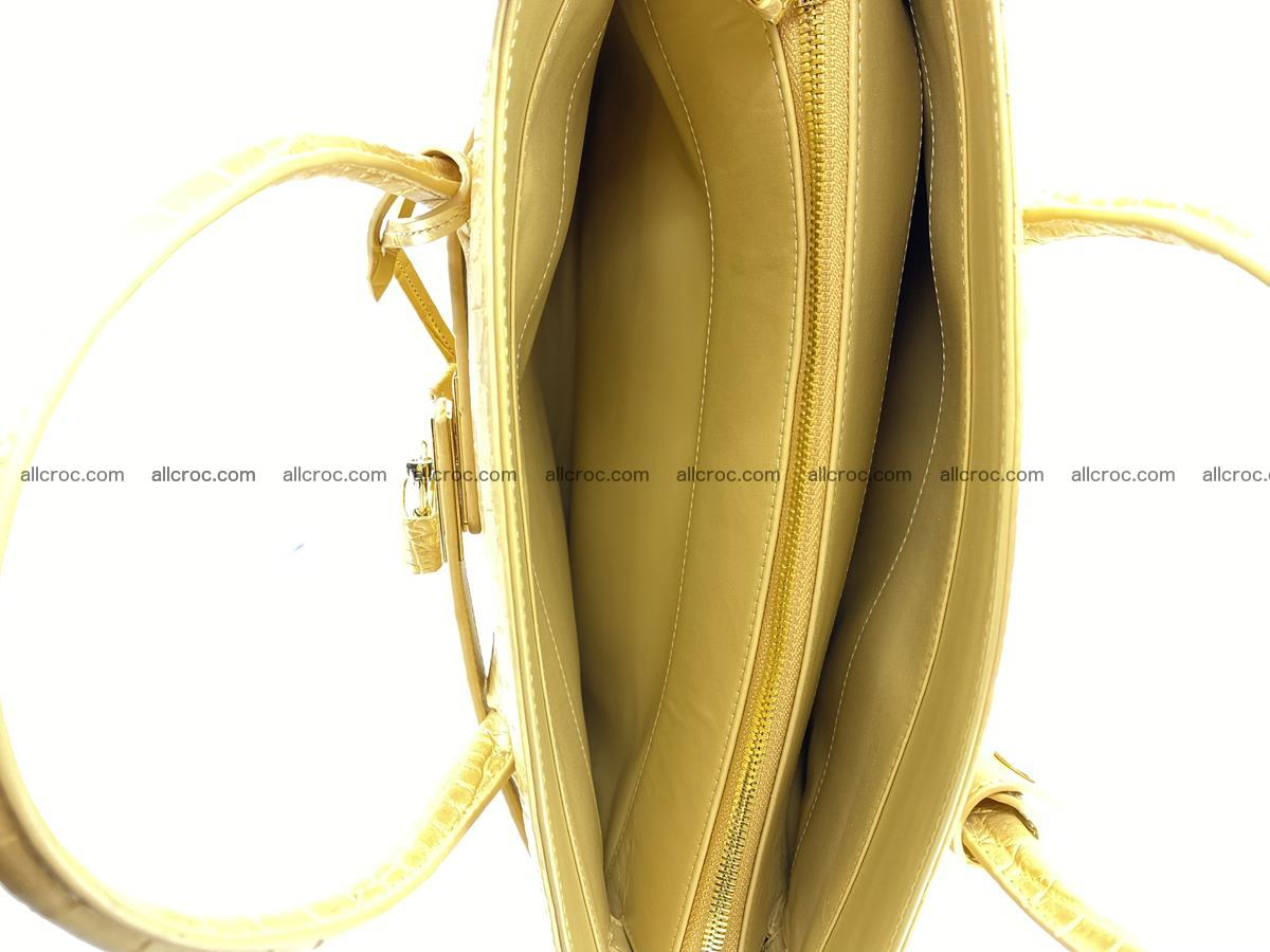 Crocodile skin women's handbag 1447 Foto 9