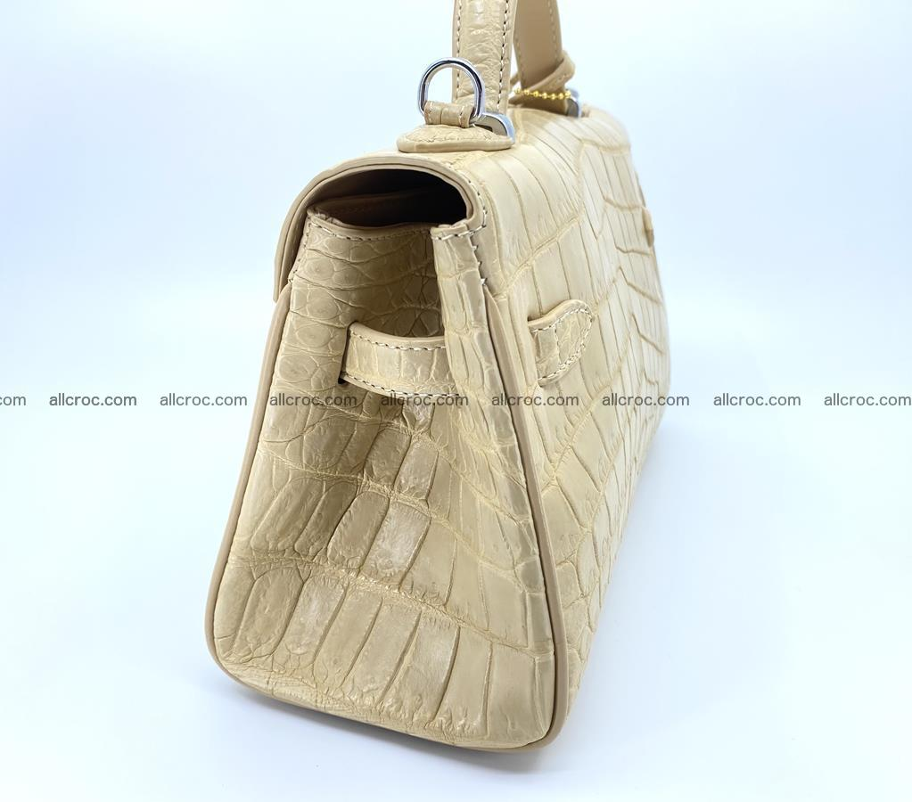 Crocodile skin women's handbag 1451 Foto 6
