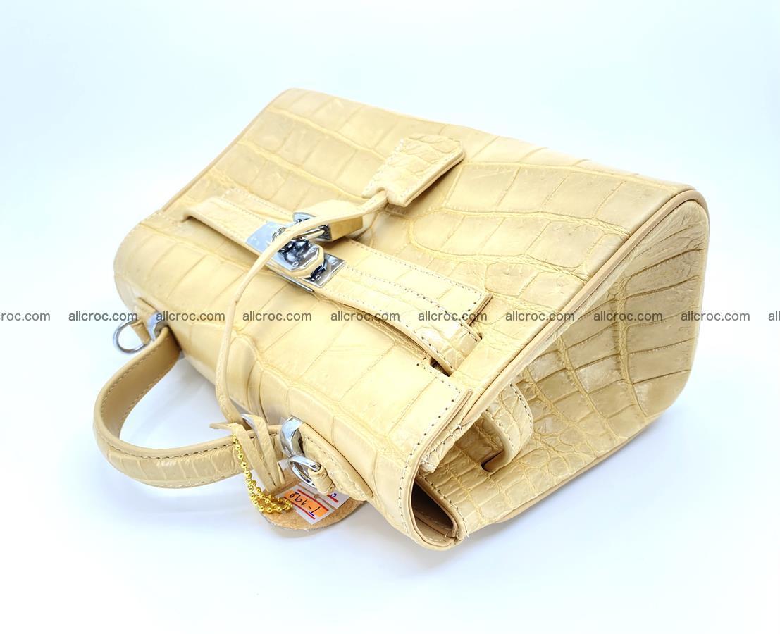 Crocodile skin women's handbag 1451 Foto 7