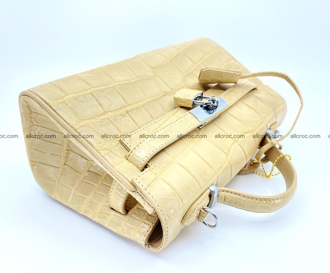 Crocodile skin women's handbag 1451 Foto 8