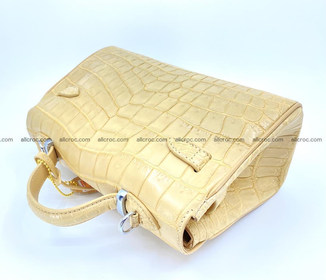 Crocodile skin women's handbag 1451 Foto 9