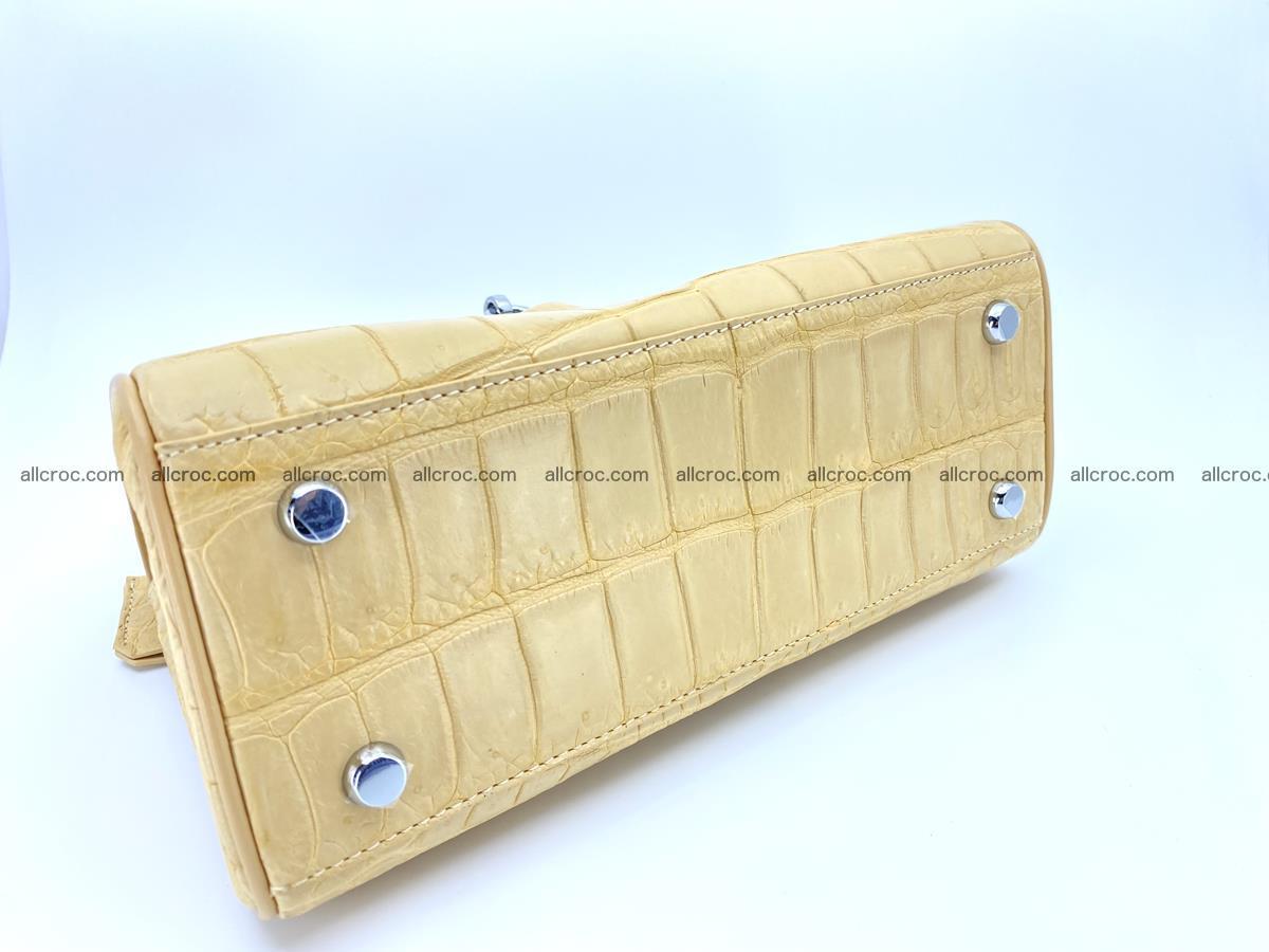 Crocodile skin women's handbag 1451 Foto 10