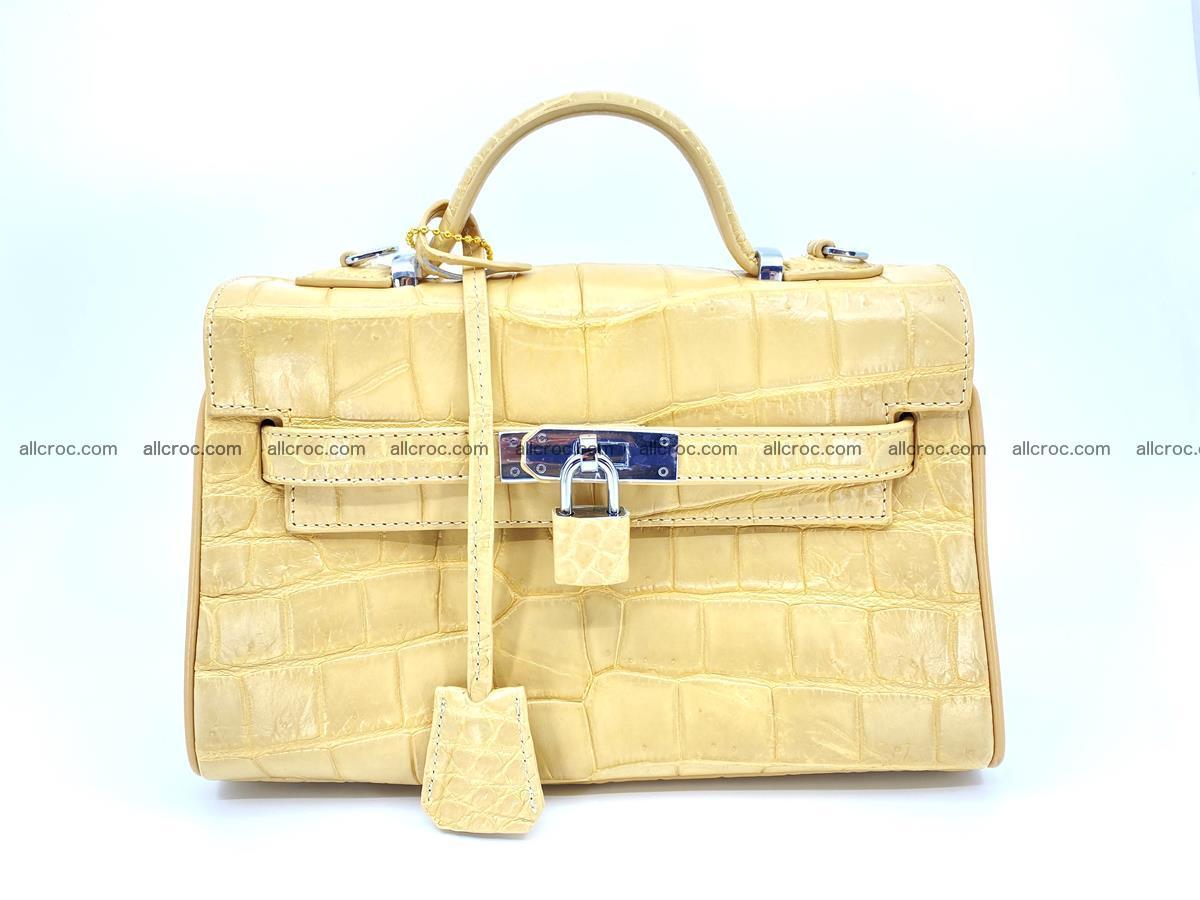 Crocodile skin women's handbag 1451 Foto 0