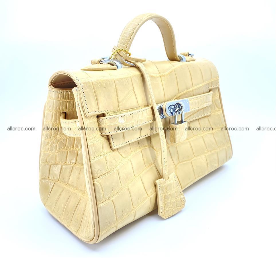 Crocodile skin women's handbag 1451 Foto 1