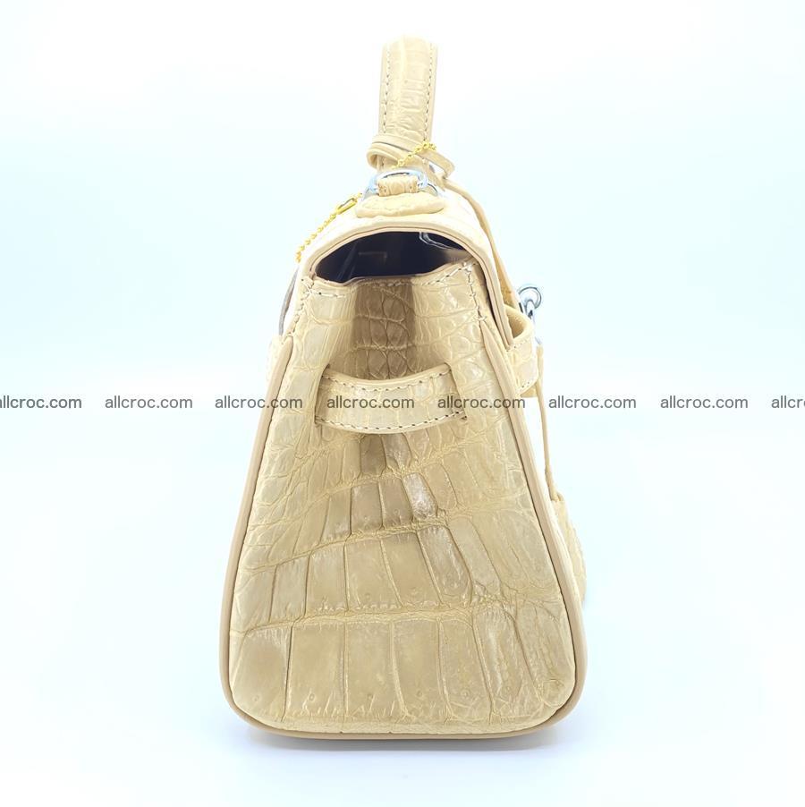 Crocodile skin women's handbag 1451 Foto 2