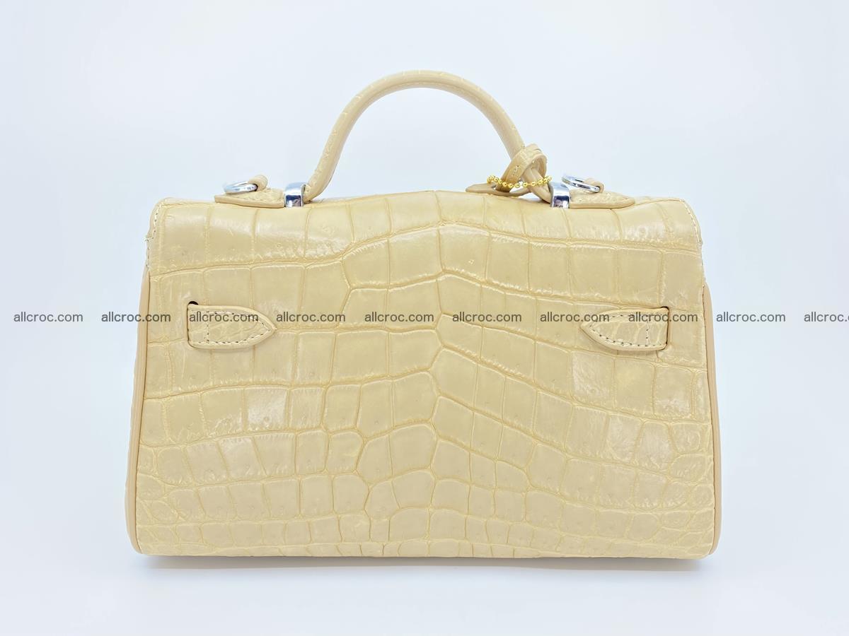 Crocodile skin women's handbag 1451 Foto 3